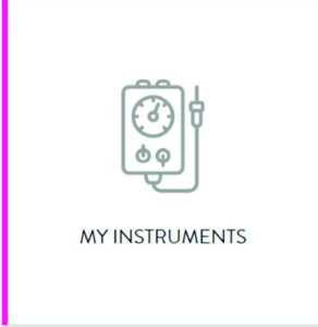 My instruments icon